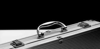 metal business chrome lock
